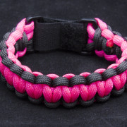 Neon Pink and Black Cuff