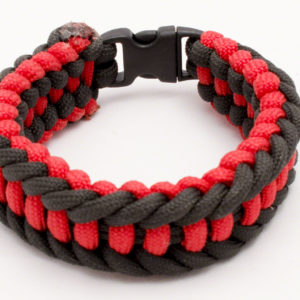 Red and black Jagged Ladder