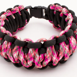 pink camo and black cuff large